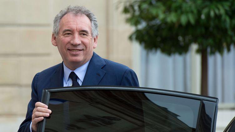 François Bayrou, le 18 mai 2017 à l'Elysée. (CHAMUSSY / WITT/ SIPA)
