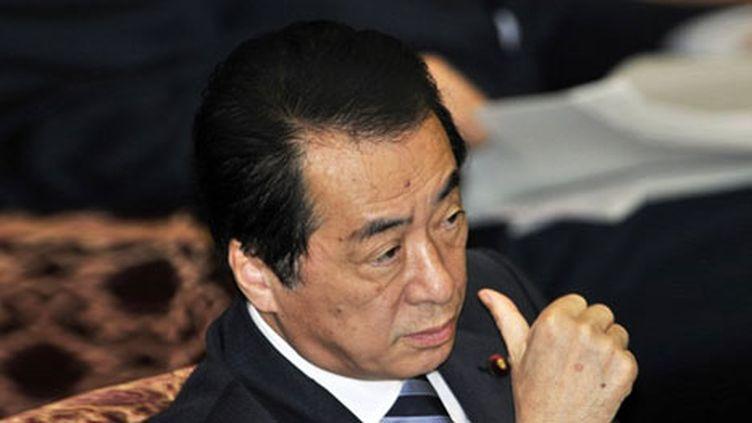 Le premier Ministre Naoto au National Diet (Parlement japonais) à Tokyo, le 18 avril 2011. (AFP - Yoshikazu Tsuno)