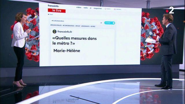 Covid-19 : la rédaction de Franceinfo répond aux questions des internautes