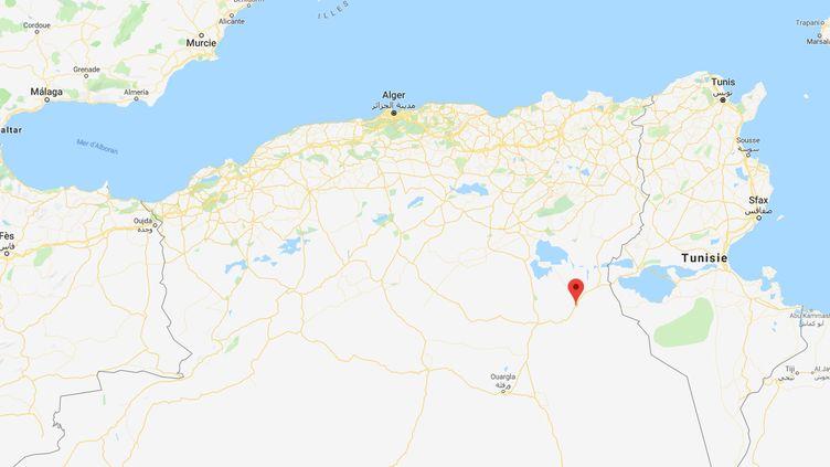 Une maternité a pris feu à Oued Souf (Algérie), le 24 septembre 2019. (GOOGLE MAPS)
