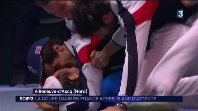 Tennis : La France remporte la Coupe Davis