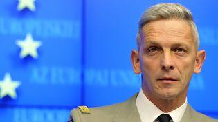 Le général François Lecointre, le 5 mars 2013, à Bruxelles (Belgique). (GEORGES GOBET / AFP)