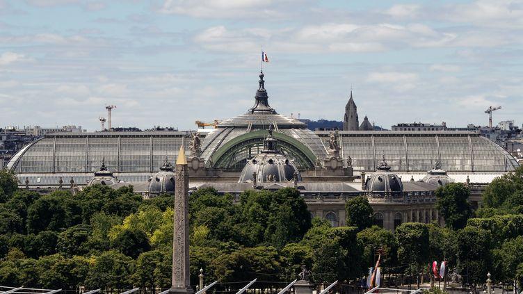 Le Grand Palais à Paris sera rénové à partir du printemps 2020. (FRANCOIS GUILLOT / AFP)
