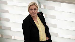 Marine Le Pen, le 15 décembre 2015 à Strasbourg (Alsace). (FREDERICK FLORIN / AFP)