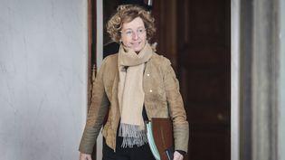Muriel Pénicaud, la ministre du Travail, à l'Élysée le 20 décembre 2017. (MAXPPP)