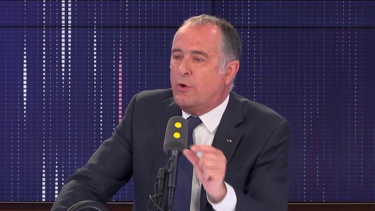 Didier Guillaume, ministre de l'Agriculture, sur franceinfo. (FRANCEINFO / RADIOFRANCE)
