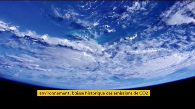 Environnement : baisse historique des émissions de CO2