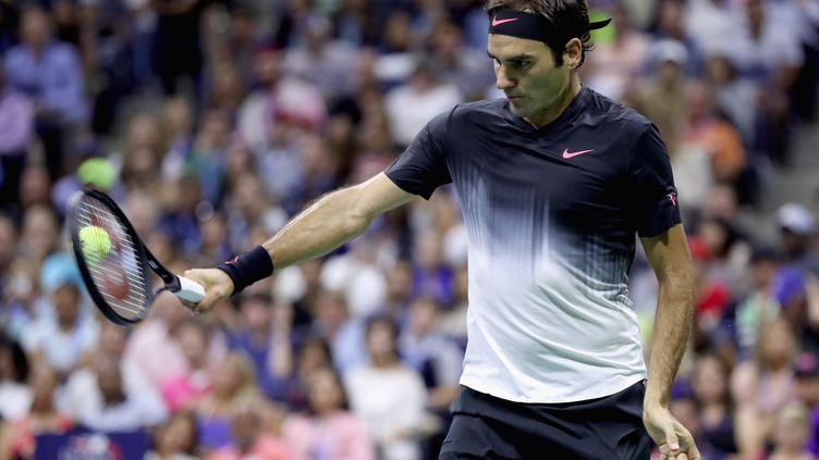 Le Suisse Roger Federer. (MATTHEW STOCKMAN / GETTY IMAGES NORTH AMERICA)