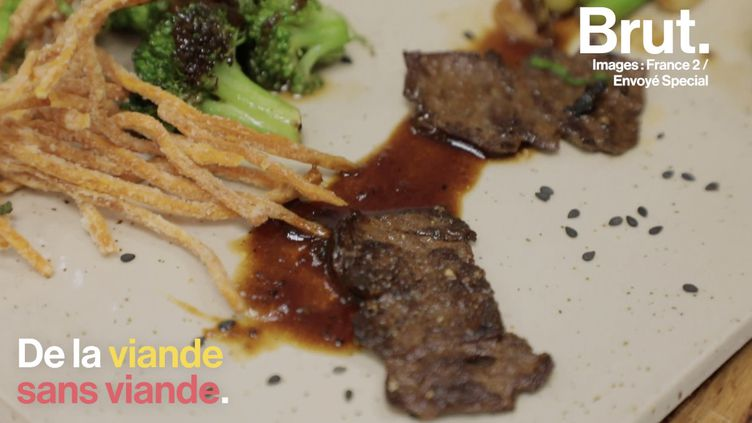 VIDEO. Un laboratoire propose de la viande… sans viande (BRUT)