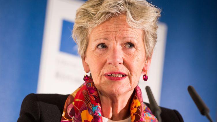 Eliane Houlette, la procureure du parquet national financier, en janvier 2016. (LUKAS BARTH / AFP)
