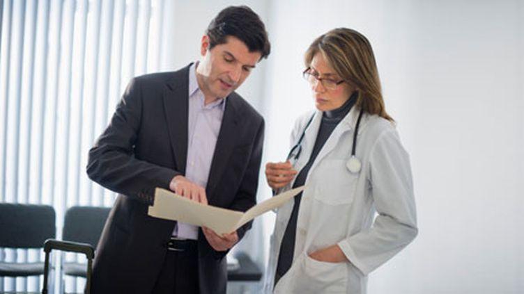 Un rapport de l'Igas remet en cause la profession de visiteur médical. (gettyimages)