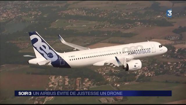 Roissy : un Airbus a évité de justesse un drone
