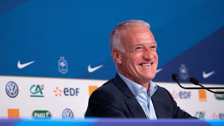 "Didier deschamps va ""très bien"". (CHRISTOPHE MORIN / MAXPPP)"