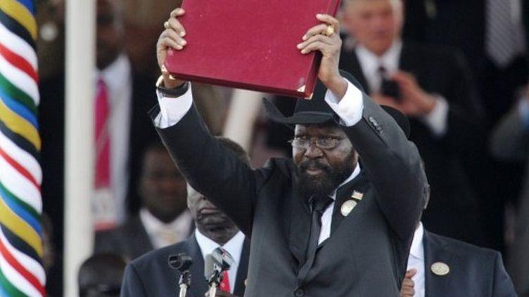 Salva Kiir, le président du Sud-Soudan. (AFP - Roberto Schmidt)