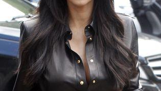 Kim Kardashian à Paris, le 20 mai 2014.  (MEHDI TAAMALLAH / NURPHOTO / AFP)