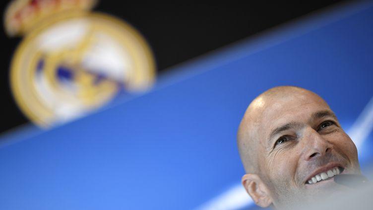 Zinedine Zidane (GABRIEL BOUYS / AFP)