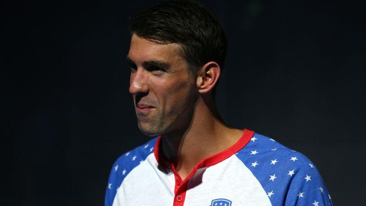 Le nageur américain Michael Phelps (TOM PENNINGTON / GETTY IMAGES NORTH AMERICA)