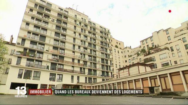 Immobilier : quand les bureaux se transforment en logement