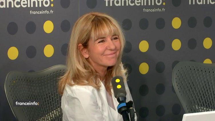 Laurence Pieau, le 23 octobre 2019. (FRANCEINFO / RADIO FRANCE)