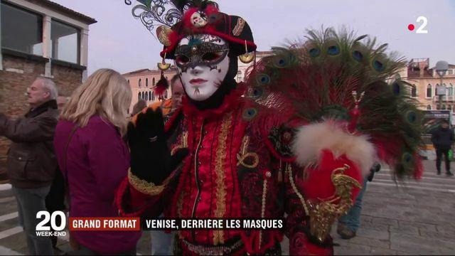 Grand format : Venise, derrière les masques