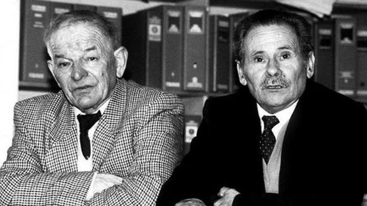 (Raymond Mis et Gabriel Thiennot étaient passés aux aveux avant de se rétracter © Comité de soutien de Mis et Thiennot)