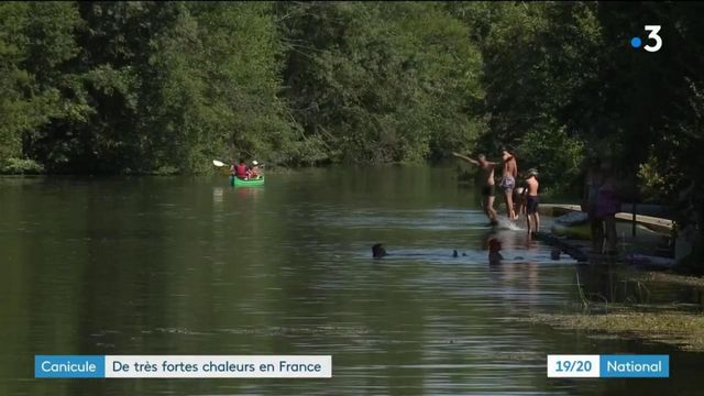 Canicule : très fortes chaleurs en France