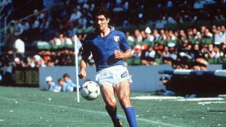 Paolo Rossi, champion du monde avec l'Italie en 1982 (?FARABOLA/LEEMAGE)
