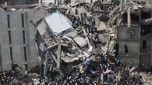 La catastrophe du Rana Plaza avait fait plus d'un millier de morts en 2013 (Andrew Biraj / Reuters)