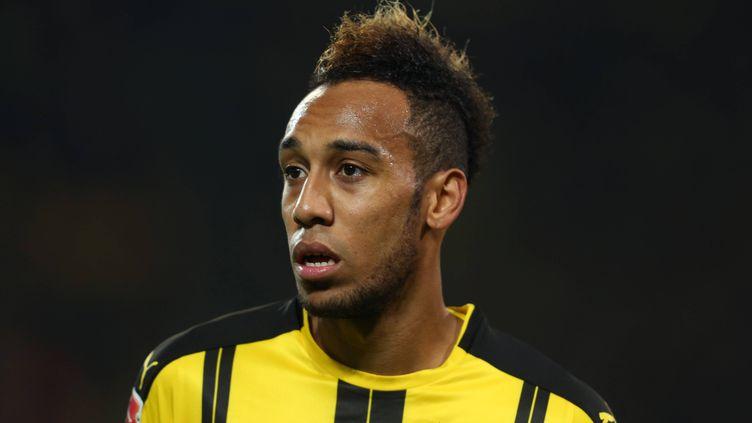 Le buteur du Borussia Dortmund Pierre-Emerick Aubameyang