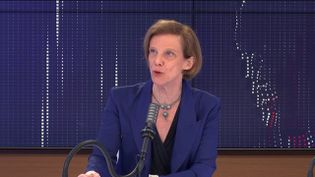 """Anne-Claude Crémieux,professeure spécialiste de maladies infectieuses était l'invité du """"8h30 franceinfo"""", lundi 17 mai 2021. (FRANCEINFO / RADIOFRANCE)"""