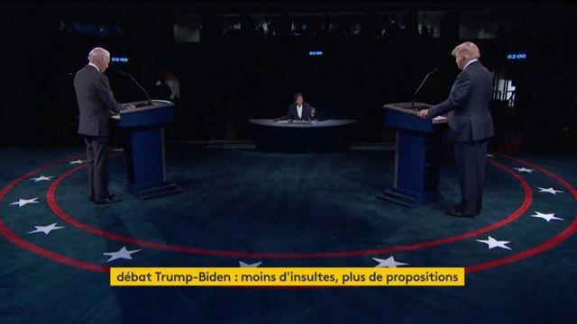 Présidentielle américaine : un dernier débat respectueux entre Donald Tump et Joe Biden