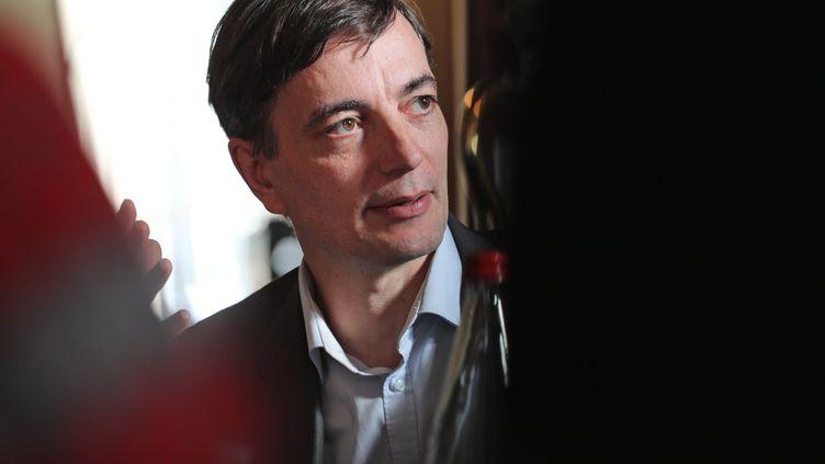 Alain Fontanel, premier adjoint au maire de la ville de Strasbourg,en charge de la coordination Strasbourg Capitale de Noël. (JEAN-MARC LOOS / MAXPPP)