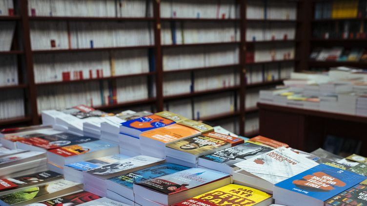 La librairie L'écume des pages à Paris  (Denis Meyer / Hans Lucas / AFP)