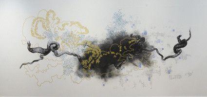 """Zone de perturbation"" de Olivier Michel et Anna Buno  (Olivier Michel )"