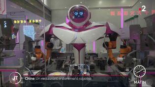 Un robot cuisinier. (France 2)