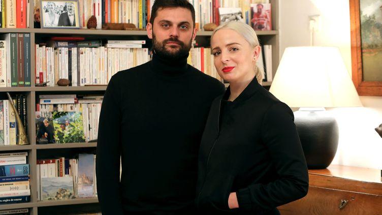 Le duo Madame Monsieur à Nice, dans les Alpes-Maritimes, le 22 janvier 2018. (MAXPPP)