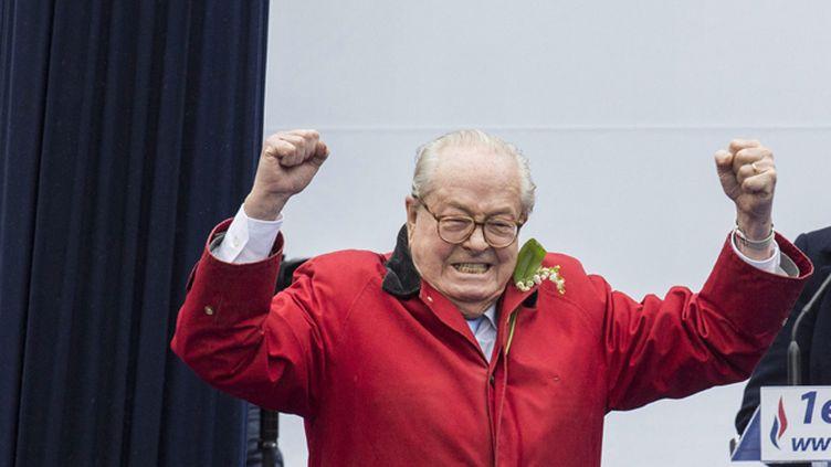(La justice annule la suspension de Jean-Marie Le Pen du Front national © MaxPPP)
