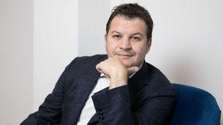 Guillaume Musso le 28 mars 2019 à Paris (Arnaud JOURNOIS / Le Parisien / MAXPPP)