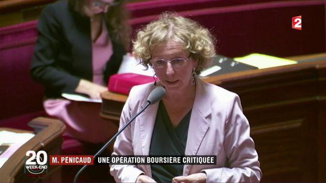 Muriel Pénicaud : une opération boursière critiquée