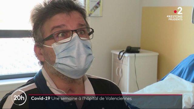 Coronavirus : à l'hôpital de Valenciennes, les moyens humains et matériels sont le nerf de la guerre