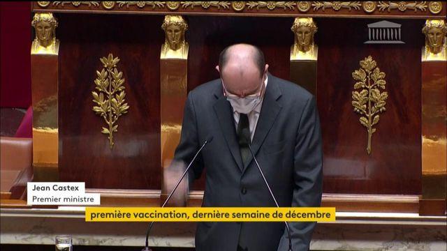 """Covid: début de la vaccination en France """"dès la dernière semaine de décembre"""", """"si les conditions sont réunies"""", annonce Jean Castex"""