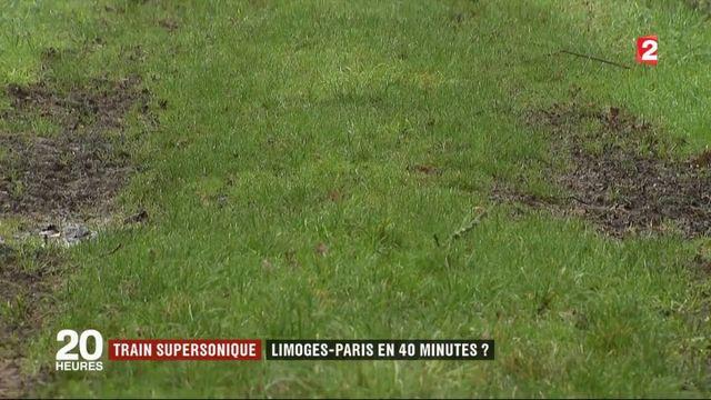 Limoges-Paris en 40 minutes : le rêve de l'Hyperloop