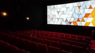 Une salle de cinéma à Orléans, le 19 mai 2021 (illustration). (PIERRE-ANTOINE LEFORT / RADIO FRANCE)