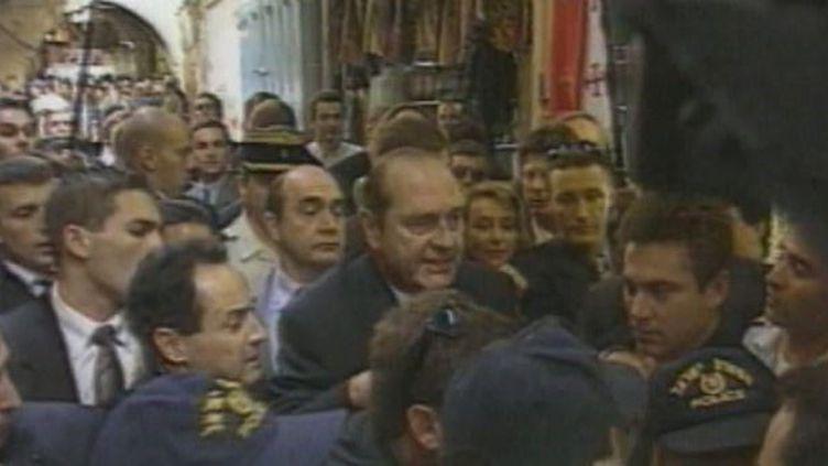 Jacques Chirac et le monde arabe. (France 24)