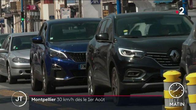 Hérault : la vitesse bientôt réduite à 30 km/h dans les rues de Montpellier