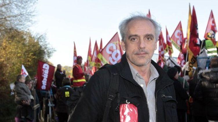 Philippe Poutou a répondu favorablement à l'invitation de l'intersyndicale CGT-CFDT-CFE/CGC vendredi (AFP)