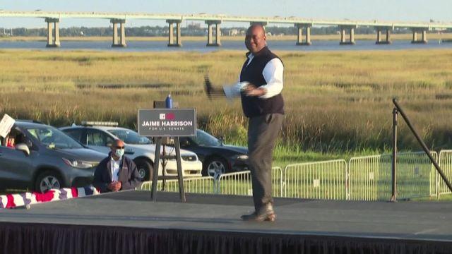 En Caroline du Sud, Jaime Harrison pourrait réaliser un exploit. Ce démocrate afro-américain, candidat au Sénat, est au coude à coude avec Lindsey Graham, l'un des plus fervents soutiens de Donald Trump.