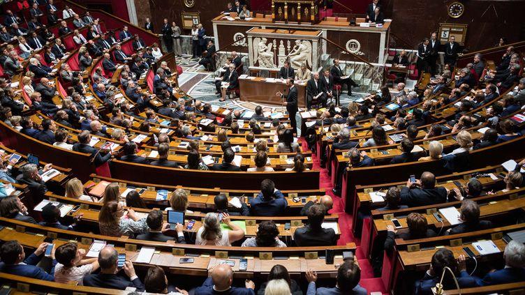 L'Assemblée nationale, le 5 juillet 2017. (MAXPPP)