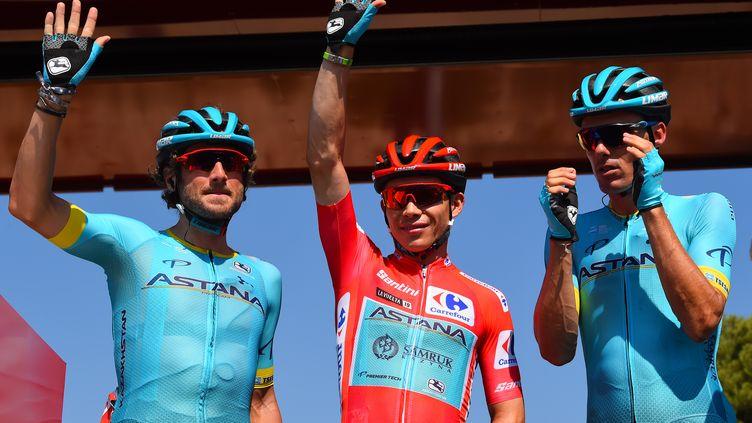 Miguel Angel Lopez sur les routes de la Vuelta (BETTINI ROBERTO / BETTINIPHOTO)