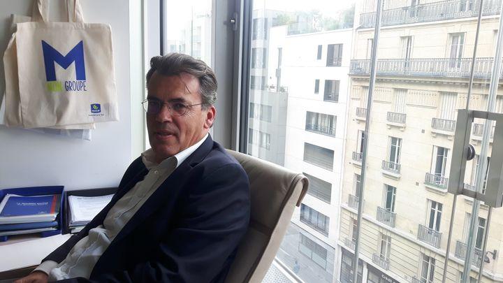 Benoît Serre, directeur des ressources humaines à la Macif. (ISABELLE RAYMOND / RADIO FRANCE)